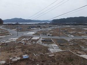 震災2年-大槌町安渡地区