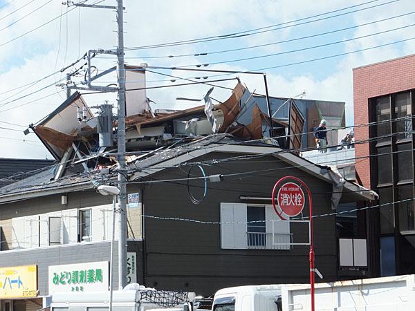 平成25年埼玉県越谷市竜巻被害