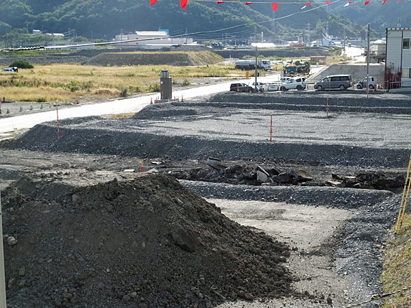 盛土工事-2014/9/30撮影